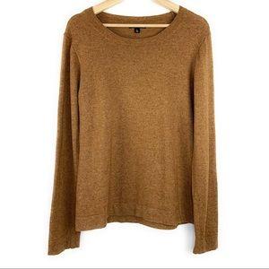 JCrew Merc Teddie Wool Crewneck Sweater